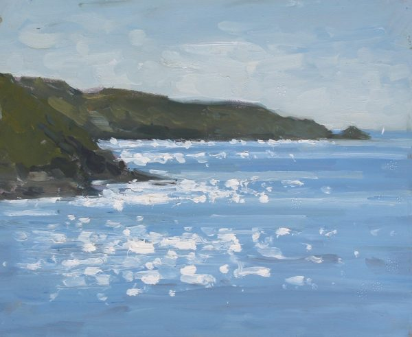 'View from South Sands, Salcombe' Oil 20x25cm £395