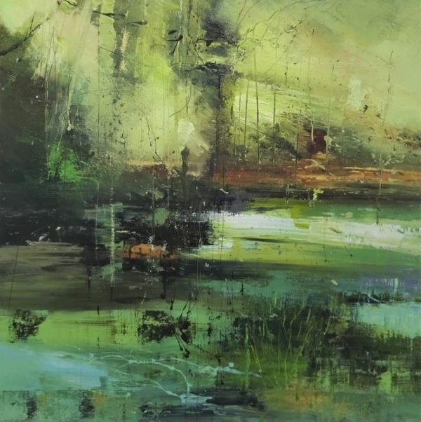 Deep in the forest 80x80cm