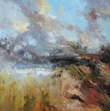 Summer cloud burst 1 120x120cm