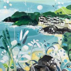 Natalie Rymer The Cove 20x20cm