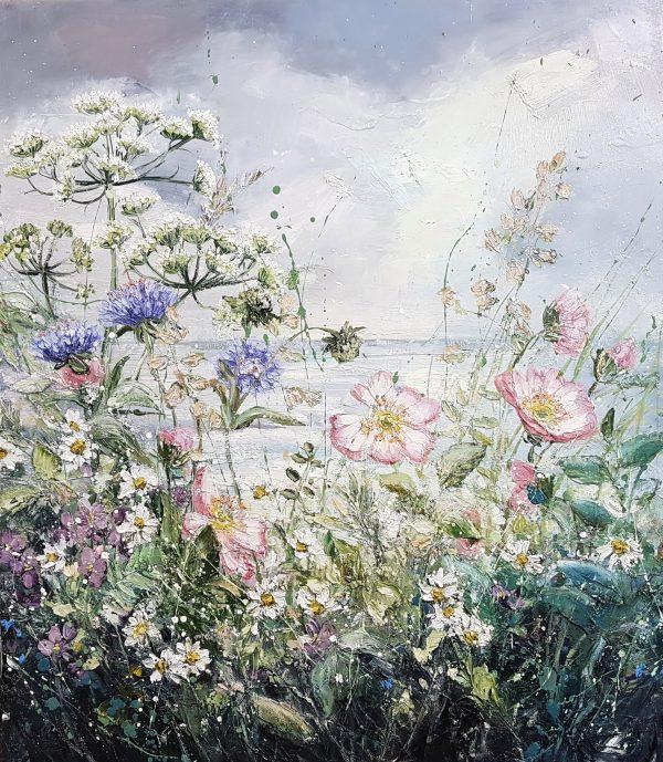 Marie Mills 'Breath of the Ocean' 60x70
