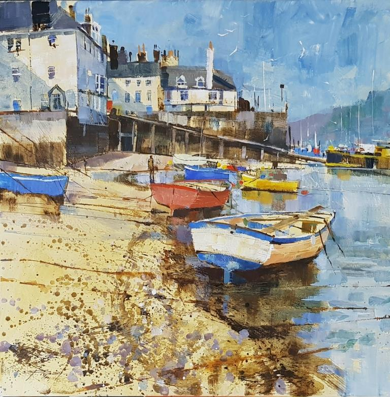 Bayards boats and slipway 1125. 50x50