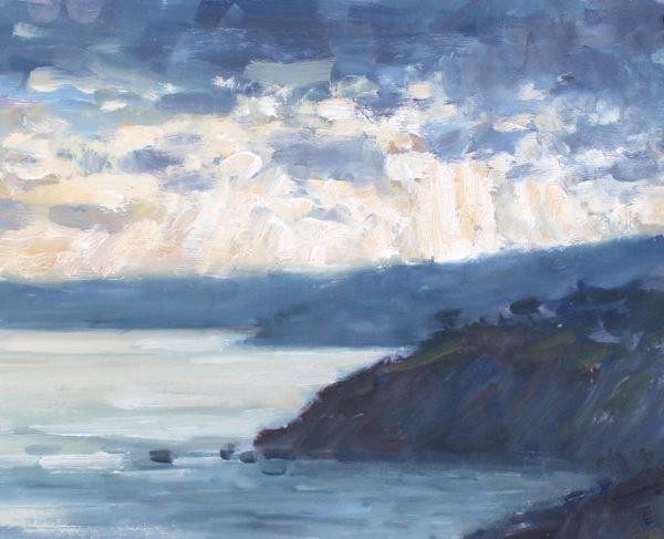 CW 'Evening light from Little Dartmouth' Oil 20x25cm £395