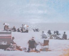 Miday Heat Blackpool Sands 56x46cm image size unframed £ 1,450 wall price