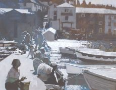 GR Evening Light Dittisham 51x41cm image size £1,200