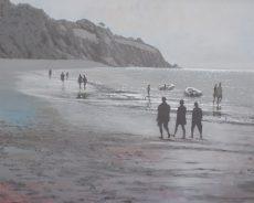 GR Spring Low Tide Blackpool sands 66x56 £1200