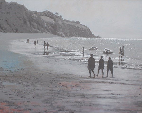 GR Spring Low Tide Blackpool sands 66x56 £1200