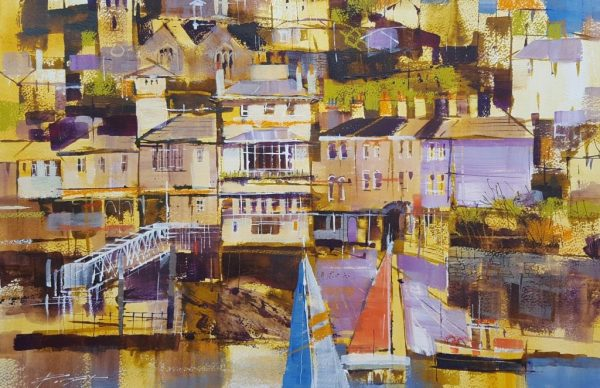Kingswear, sail and ferry slip. 36x52 950