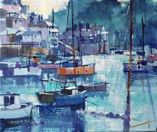 Summer blues, Kingswear 25x30 550