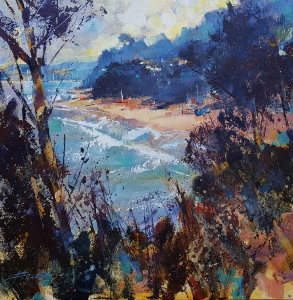 Through the trees Mill Bay 50x50 c 1125