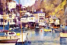 Waterfront, Kingswear 28x38 750