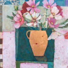 Flowers From Debbie's Garden. 24 x24 in £795