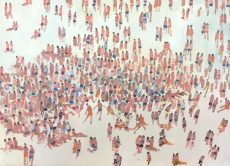 David Wheeler - Patterns of Beach Life 70x50 £875