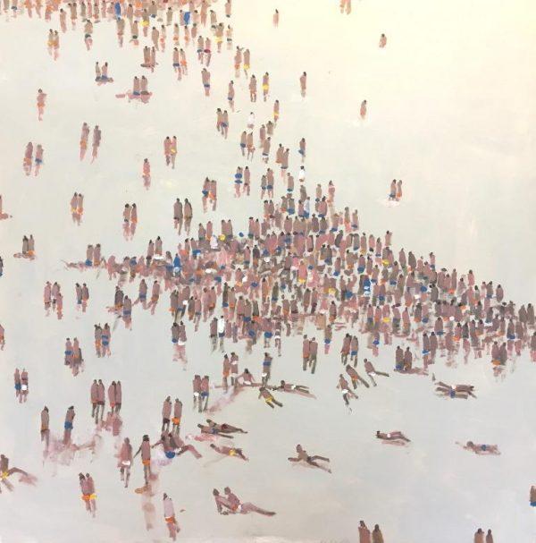 David Wheeler - The Beach 100x100 £150
