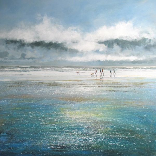 Striding Out 90 x 90 cm £1495 unframed low res