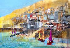 Nagib Karsan Colourful Kingswear 60x42 £795