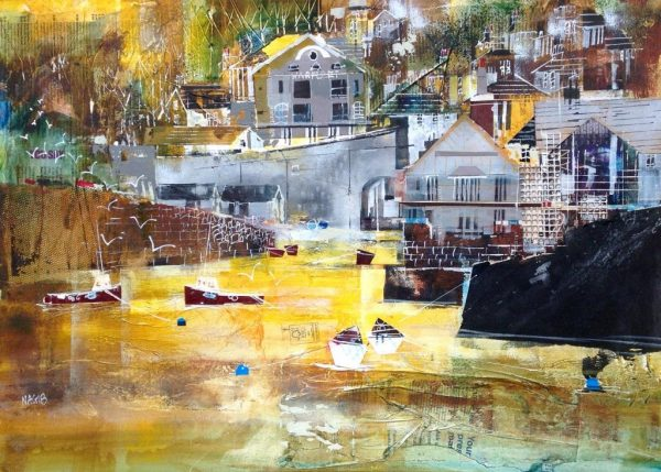 Nagib Karsan - Warfleet Creek 60x42 £795