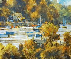Autumn trees, Dittisham