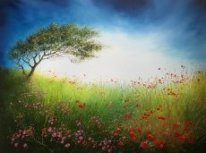 L Melody in the Meadow 102x76cm framed