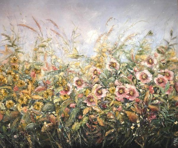 Marie Mills 120x100cm 'Scent of Autumn'