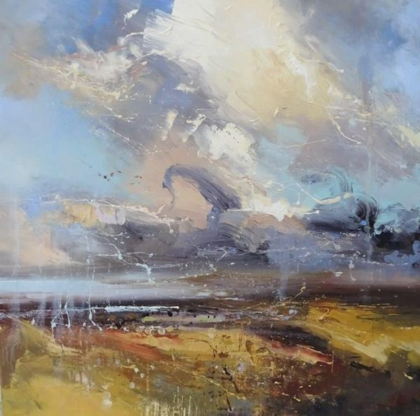Shadow of the moors 80x80cm