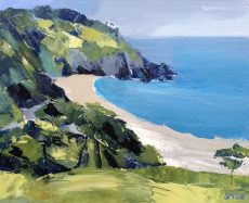 Sian McGill Blackpool Sands 51 X 41cm