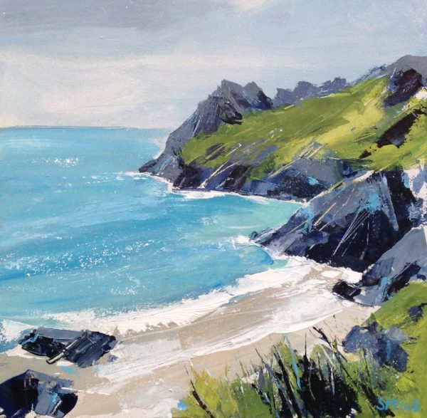 Sian McGill Prawle Point II 40 X 41cm