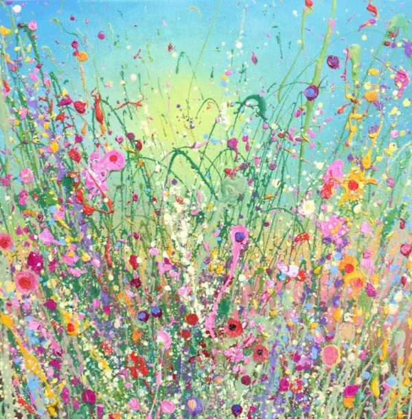 Yvonne Coomber I am loving you so 40x40 £790