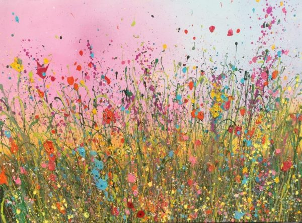 Yvonne Coomber Your love is beautiful 100x120 £3150