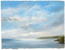Amanda Hoskin - Glorious Sky over Start Point £545