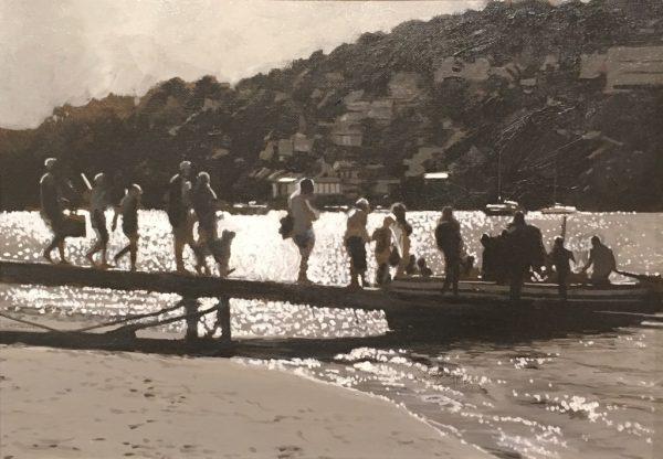 Greg Ramsden - Salcombe Ferry 22x33 - £600
