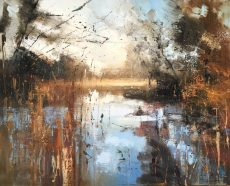 Claire Wiltsher River Bank 3 100x80