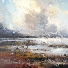 Claire Wiltsher Sea Clearing 60x60
