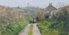 _Country lane, Blackpool_ 34x15cm £495