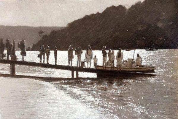 Greg Ramsden The Salcombe Ferry 29x19 £450