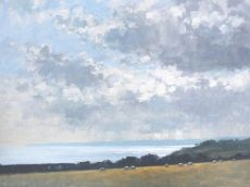 5. 'View towards Start Point' Oil on panel 60x80cm £1500