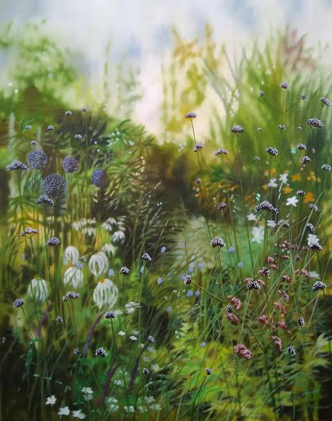 Dorset summer garden