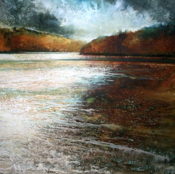 From Dittisham ( 92 x 95cm)