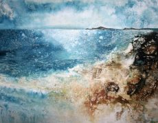 Glory of the Shore (Burgh Island) (80 x 104cm)