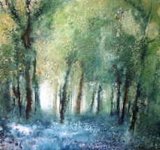 In the Woods With the Majesty (73 x 78cm)