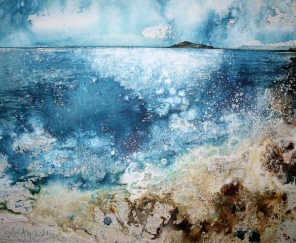 Low Tide Burgh Island (51 x 61cm) (002)