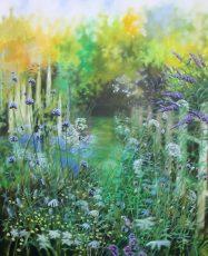 Wiltshire summer garden