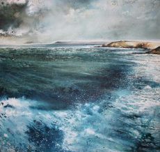 With the Wind and the waves 74 x 74cm)