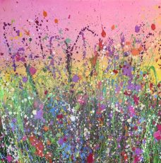 Yvonne Coomber - Field of dreams 90x90 £2420