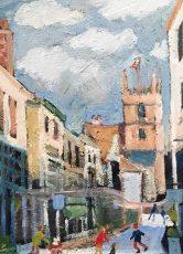 Simeon Stafford - View to St.Savior's Church 29x40 £1200