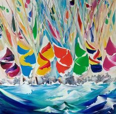 Swinging Spinnakers - 60x60