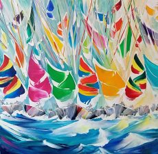 Twisted Spinnakers - 60x60