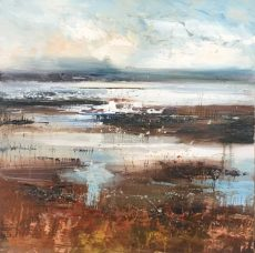 Claire Wiltsher £795 Shifting Elements 50x50cm