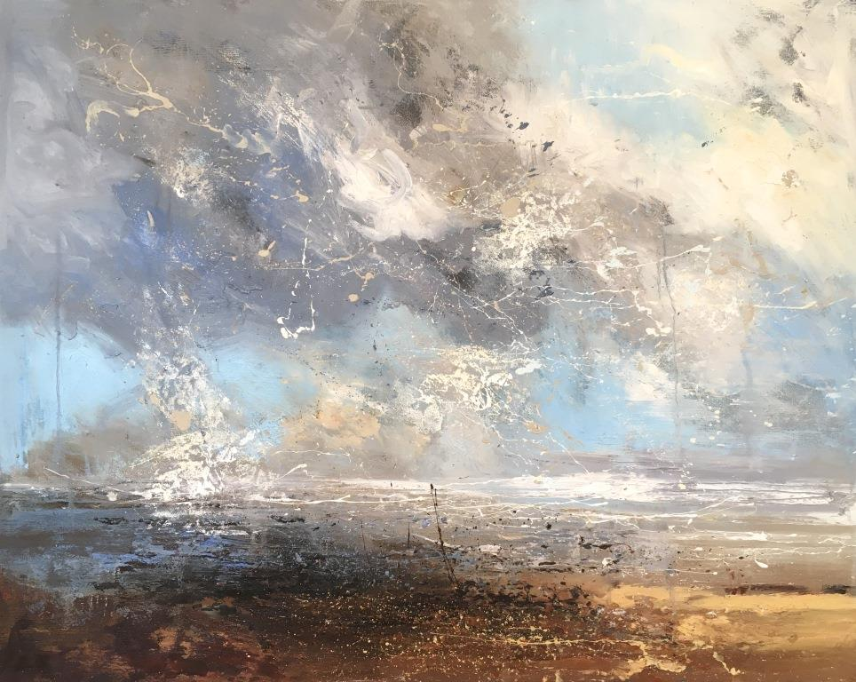 Claire Wiltsher - Spatial Connection 4 100x80 £1595