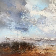 Claire Wiltsher - Storm Approaching 50x50 £795